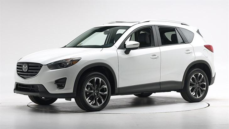 Краш-тест 2016 Mazda CX-5