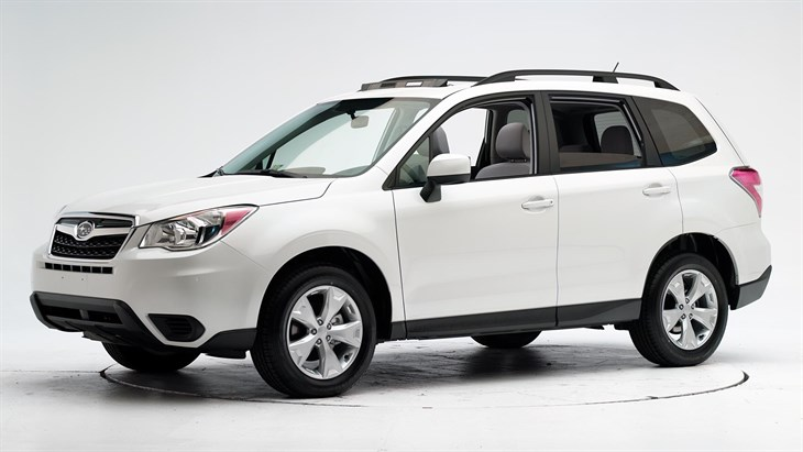 Краш-тест 2016 Subaru Forester