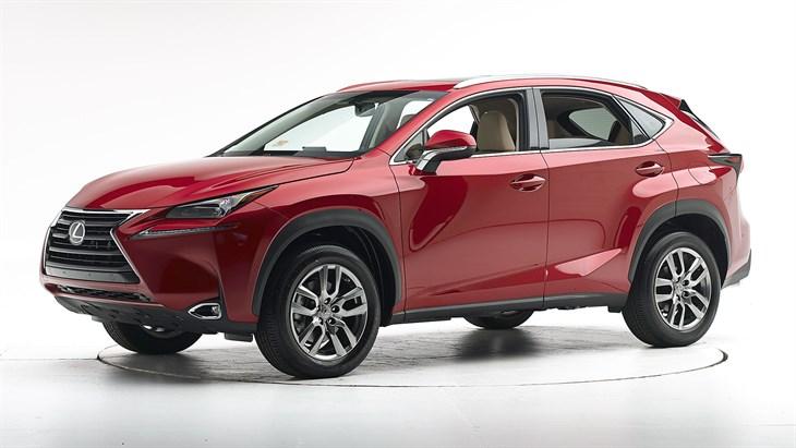 Краш-тест 2016 Lexus NX