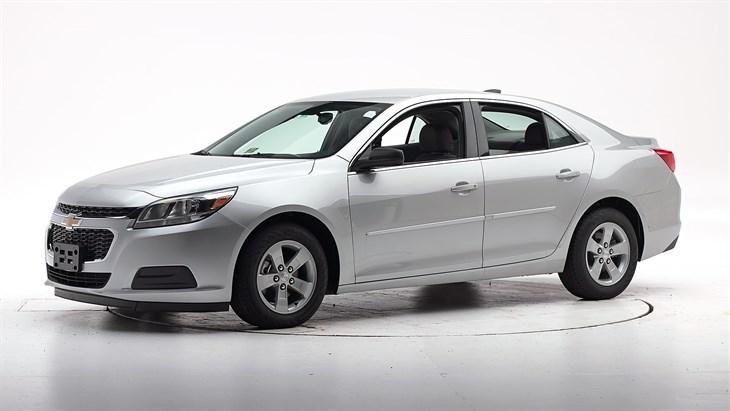 Краш-тест 2015 Chevrolet Malibu Limited