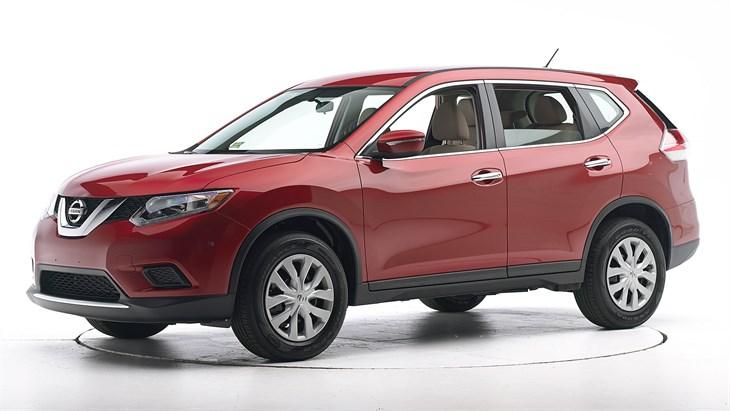 Краш-тест Nissan Rogue 2016