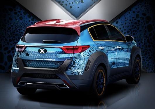 Містичний 2017 Kia Sportage X-Men