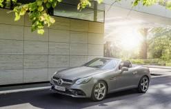 Нова фотогалерея оновленого Mercedes SLC