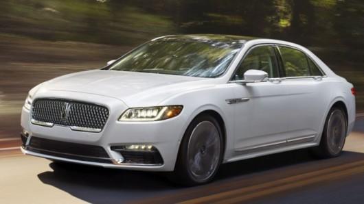 Дебют 2017 Lincoln Continental, перші фото, технічні характеристики