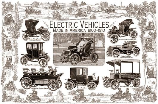 Історія електромобілів початку XX століття