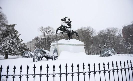 Хто сказав що в Америці краще: Снігопад у США