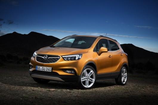 Новий Opel Mokka X готовий до появи на Женеві