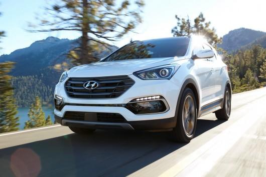 2017 Hyundai Santa-Fe/ Santa-Fe Sport на автосалоні в Чикаго 2016