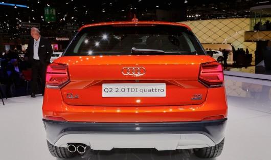 2017 Audi Q2 дебютує в Женеві