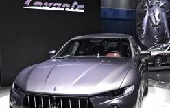 Maserati Levante SUV на автосалоні в Женеві 2016