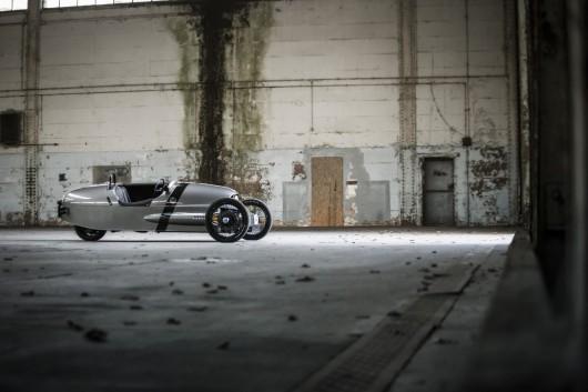 Morgan EV3 на автосалоні в Женеві 2016