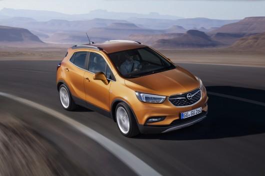 Opel Mokka X на автосалоні в Женеві 2016