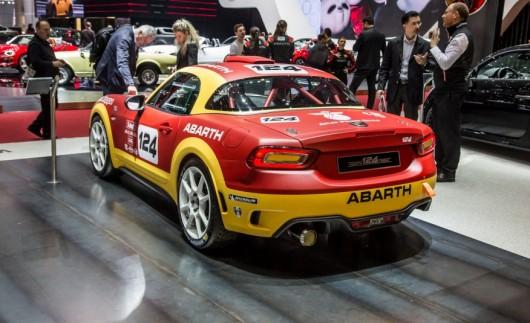 Fiat вирішив воскресити модель 124 Rally Abarth