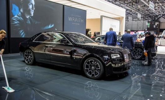 Rolls-Royce представив унікальні версії моделей Ghost і Wraith