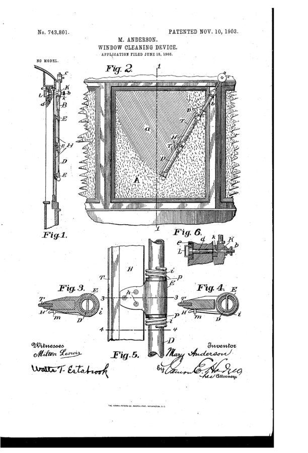 Хто винайшов склоочисник