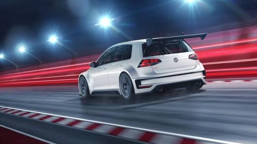 VW розсекретив новий гоночний Golf GTI TCR